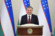 Shavkat Mirziyoyev addresses the 20th plenary session of the Senate